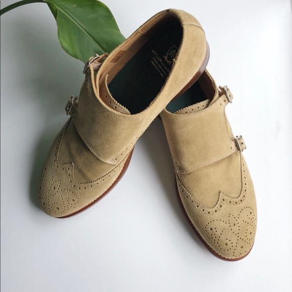 Massimo Dutti Shoes Mens Suede Double Monk Strap Shoe Poshmark